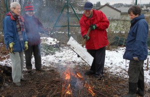 Hardy allotmenteers!